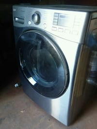 white front-load clothes washer Centereach, 11720