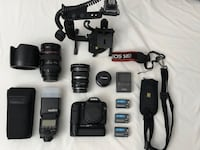 Complete Canon EOS DSLR Kit with Lowepro Sling Bag. Toronto, M5N 3A5