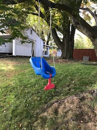 Blue and red Little-Tikes hanging jumper Falls Church, 22043