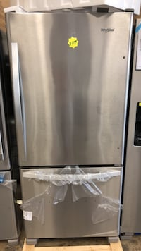 Maytag stainless steel side by side refrigerator