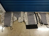 Cabela's Tactical seat covers for double cab Tacom