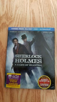 Sherlock Holmes Game of Shadows Bluray