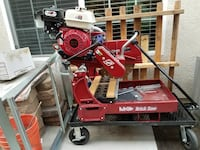 red Brick saw machine