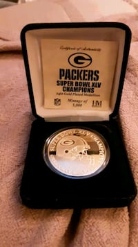 2011 Green Bay Packers Chapionship Coin