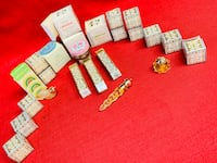 LOT 20-Avon Mini Perfume/Scented Cream Bottles Original Elegant Box Las Vegas, 89131