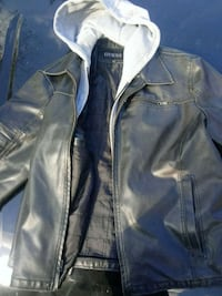 Guess leather jacket size xxL Columbus