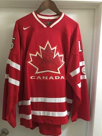 red and white Canada NHL jersey Kitchener