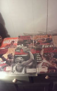 Michael Jordan. Assorted Sports Illustrated  New Castle, 19720