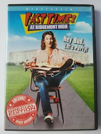 "Fast Times at Ridgemont High Dvd-""Awesome Widescreen SPECIAL EDITION"" Bethesda, MD, USA"