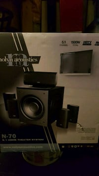 NOLYN ACOUSTICS !! Home Theater System!! Toronto, M1B 2J3