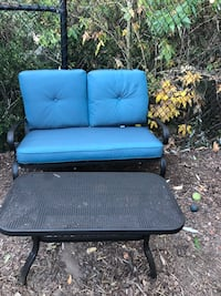 Brand new patio loveseat and coffee table