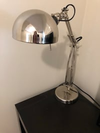 stainless steel and white pendant lamp Calgary, T2N 3N4