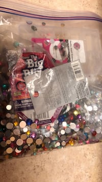 Bag of BLING and storage container Livermore, 94550