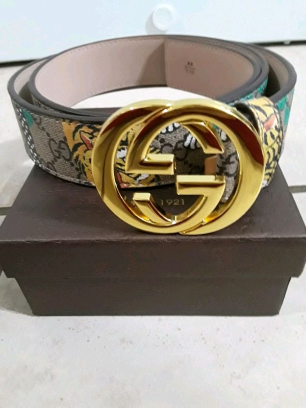 cd70850a9f6 Used brown and black Gucci belt for sale in Auburn - letgo
