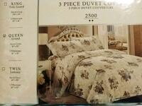 3pc Queen Duvet Covers Toronto, M1L 2T6