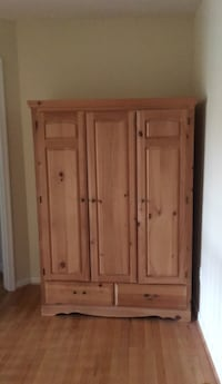 brown wooden 4-door cabinet Leesburg