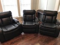 3 theater chairs for your media room Houston, 77345