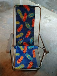 blue and green Disney Cars print folding chair Manchester, 03102