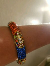 red, blue, and yellow beaded bracelet Orlando, 32811