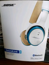 Bose Soundlink blue tooth wireless headphones