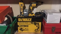 gun and cutting drywall tools dewalt only used ones comes wit charger and tow batteries Cambridge, N1R 4Y4