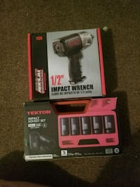 black and red Craftsman cordless power drill 1963 km