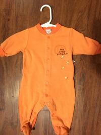 baby's orange footie pajama Winchester, 22602