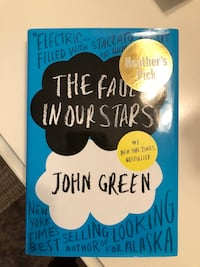Book- The fault in our stars Newmarket, L3Y 1M5