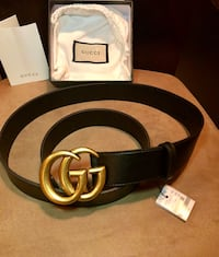Gucci GG Leather Belt Size 32-34 New York, 11412