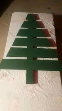 Christmas decoration wood tree 4ft tall  Pharr, 78577