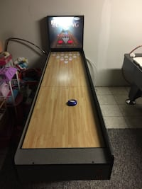 Bowling arcade table game Bear, 19701