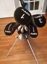 Complete set of Hybrid clubs Manassas, 20112