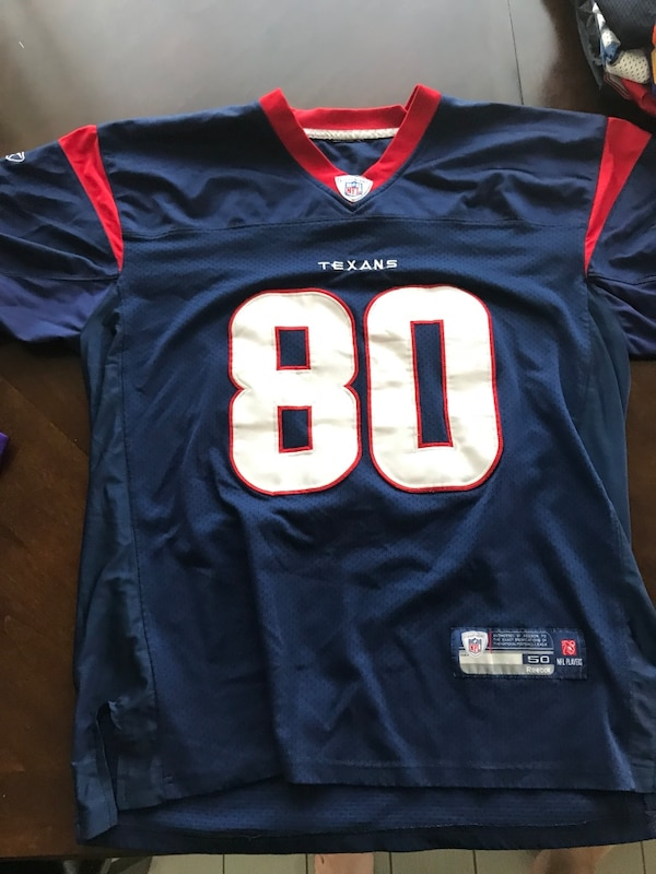 huge selection of fef63 c811c Blue and red nfl Jersey Andre Johnson
