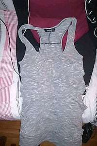 Ripe/Ladies grey  layered frill tanktop London, N6H 1M9