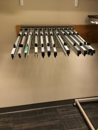 Wall-Mounted Architectural / Technical Drawing Rack