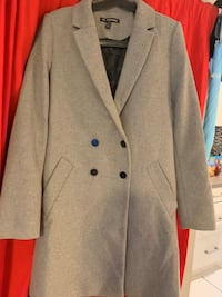 Like new Zara gray coat size medium  Vancouver, V5R 5R2