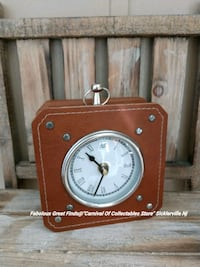 Leather Styled Rare Clock  Sicklerville, 08081