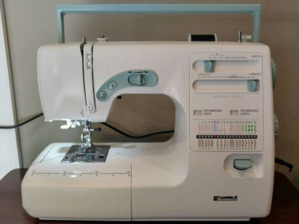 Used Kenmore 4040 Made By Janome Sewing Machine For Sale In Simple Janome Sewing Machine Sale