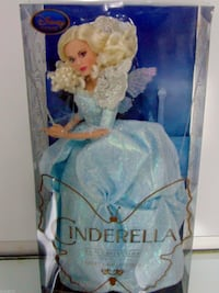 Disney Store Cinderella  FAIRY GODMOTHER Doll Film Collection Toronto