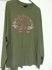 green and black crew-neck long-sleeved shirt Louisville, 40299