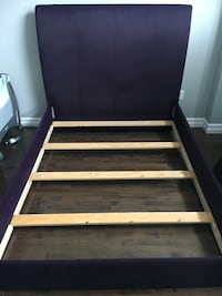 Queen size bed frame, Purple Dartmouth, B2W 0J5