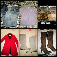 Women's clothing/boots Kelso, 98626