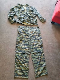 Camo Hunting/ camping suit