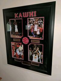 Kawhi Leonard memorable plaque