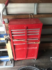 red and gray tool chest New York, 11230