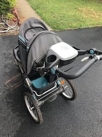 black and gray motor scooter Leesburg, 20175