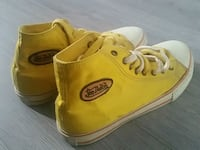 pair of yellow Converse All Star high-top sneakers Toronto, M3L