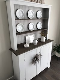 Hutch and Shelves