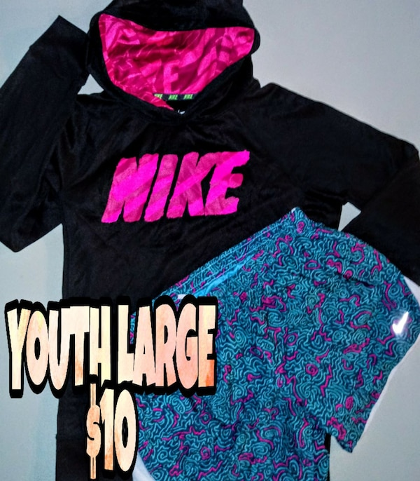 YOUTH LARGE (12/14) NIKE SET