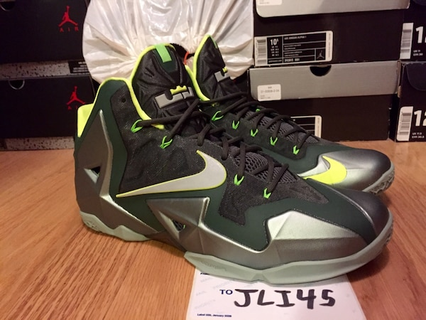 cc2b87f0a055 Used Nike lebron 11 Dunkman size 12 Jordan Kobe Durant for sale in Silver  Spring